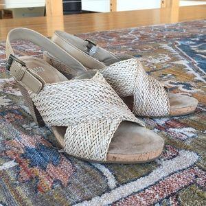 Eileen Fisher Woven Sandals